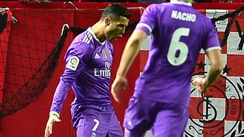Real Madrid's 40-match unbeaten run ended by Sevilla