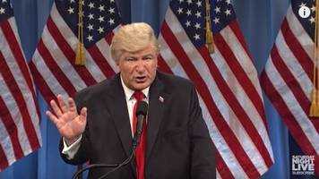 'SNL' Took On Trump's Press Conference, And It Was ... A Lot