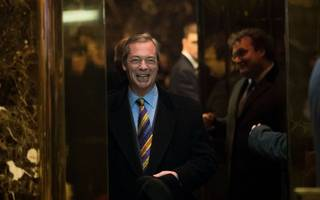 farage: us trade deal  could be signed in months under donald trump