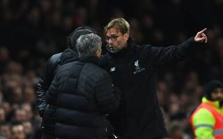 Tempers flare as Jose Mourinho and Jurgen Klopp clash