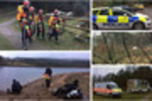 search for missing man at burrator reservoir suspended as...