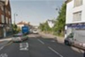 Man cut free from car and taken to hospital after smashing into...