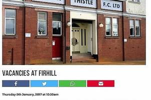 Partick Thistle Football Club slammed for advertising 'deeply concerning' unpaid volunteer role