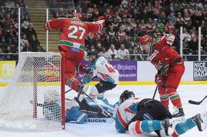 cardiff devils 2-3 belfast giants: coach andrew lord demands reaction from players as capacity crowd are stunned into silence