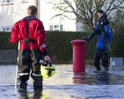 Villagers evacuated as Britain faces severe flood warnings