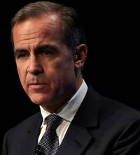 carney: uk rates could rise or fall