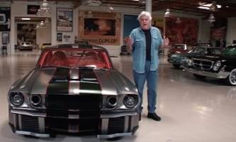 1,000 hp vicious 1965 ford mustang restomod from hell gets some jay leno love