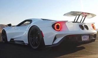2017 ford gt engages race mode seven times quicker than the mclaren p1