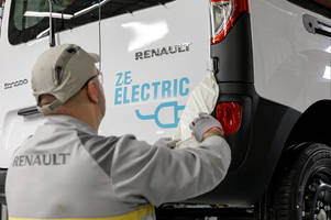 Renault launches two all-electric vans to make bustling cities cleaner and quieter