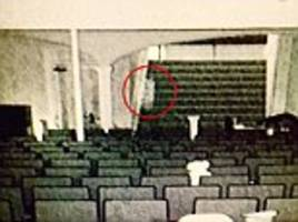 ghost-hunters capture footage of apparition in theater