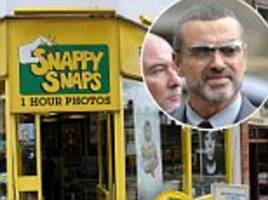 snappy snaps bosses beg george michael fans not to turn shop where he crashed car into shrine