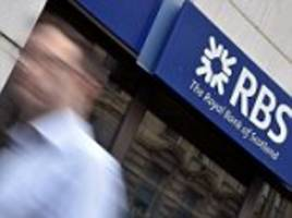 market report: rbs leads fall of banks