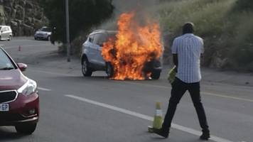 South Africa Ford recalls Kugas over fires