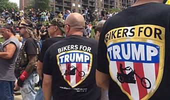 'bikers for trump' vow to form a wall of meat to protect inauguration from protesters