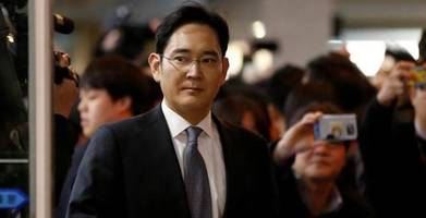 south korea seeks arrest of samsung chief for bribery, embezzlement and perjury