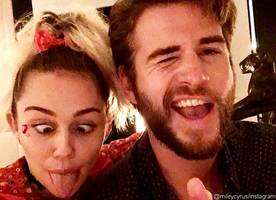 Miley Cyrus Hosts Weed-Themed Birthday Party for Liam Hemsworth