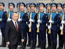 Russian navy engage in highest level of activity for years
