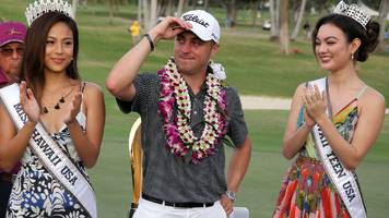 thomas sets new 72-hole record in hawaii win