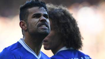 diego costa: chelsea striker trains alone amid reported china interest