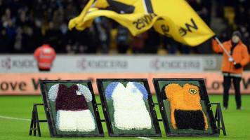 graham taylor remembered by aston villa and wolves in pre-match tribute