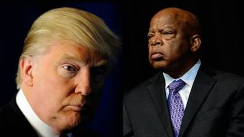 obama administration urges donald trump to 'reach out' to john lewis