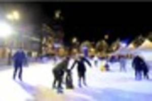Guess how many thousands flocked to Derby's ice rink this year