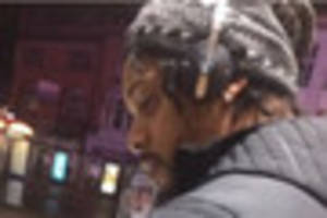 Police want to speak to this man in connection with an alleged...