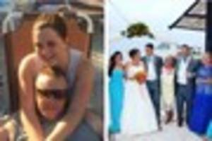 sutton coldfield couple's 'once in a lifetime' greek wedding...