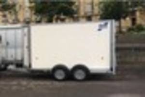 Heartless thieves steal church trailer used to take out disabled...