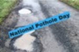 National Pothole Day - road expert warns of underfunding