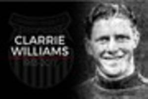 Grimsby Town legend Clarrie Williams remembered - in pictures