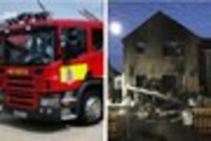 Clacton house fire leaves family homeless