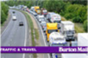 Traffic and travel in Burton and South Derbyshire for Monday,...
