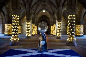 scotland gets in on big super bowl build up as vince lombardi trophy arrives in glasgow