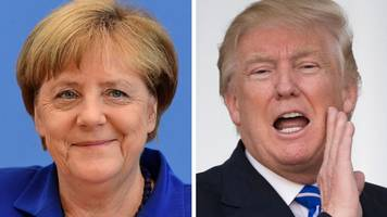 trump has 'enormous respect' for merkel, says aide