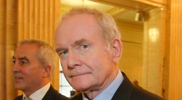 no smiles, no optimism, just another fraught day at stormont