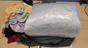 police intercept £100k package of cannabis destined for northern ireland