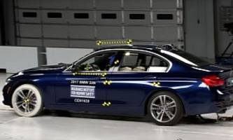 2017 BMW 3 Series Gets Top Safety Pick+ from IIHS After Acing Small Overlap