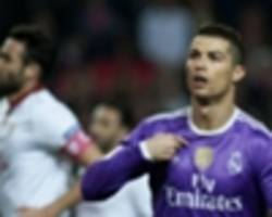 Ronaldo returns to Real Madrid's Copa squad