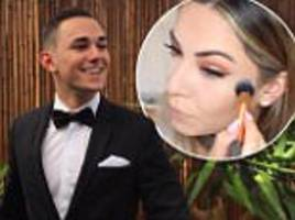 bronte jones' brother voices over her make up video