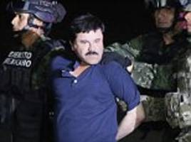 drug lord el chapo claims guard is sexually harassing him