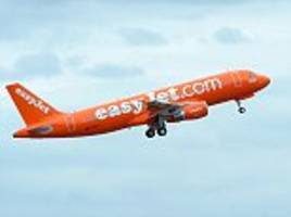 easyjet flight from london to spain is diverted