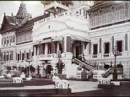 Photos from the 1890s show Thailand before  tourism boom