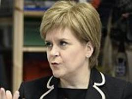 sturgeon: a second independence referendum is more likely