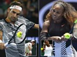 federer and serena are approaching their career swansongs