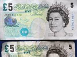 why you need to spend old-style £5 notes before may 2017