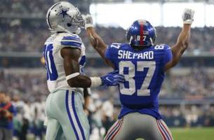 new york giants: shepard named to pfwa all-rookie team