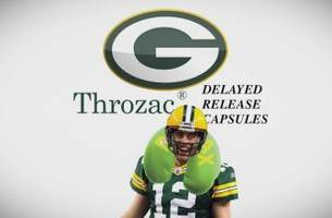 Throzac: anxiety medication for opponents of Aaron Rodgers | FOX SPORTS LIVE