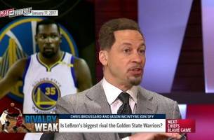 LeBron James says he has no rivals - but aren't the Warriors one? | SPEAK FOR YOURSELF