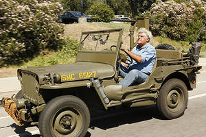 cnbc renews 'jay leno's garage,' 'filthy rich guide' for third seasons